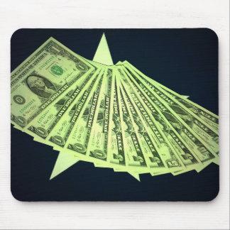アメリカのお金及び旗のマウスパッド マウスパッド