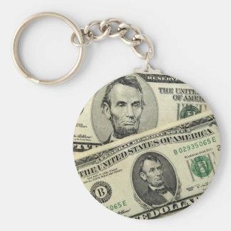 アメリカのお金Keychain キーホルダー