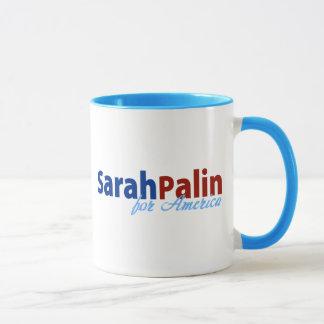 アメリカのためのサラ・ペイリン氏 マグカップ