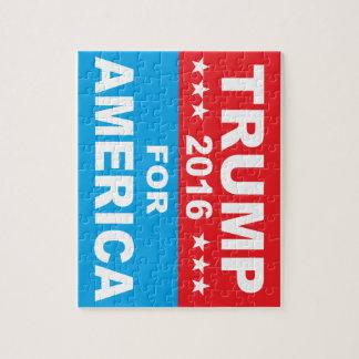 アメリカのためのドナルド・トランプ ジグソーパズル
