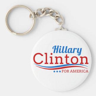 アメリカのためのヒラリー・クリントン キーホルダー
