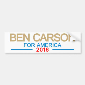 アメリカのためのベンカーソン バンパーステッカー