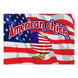 アメリカのひよこ カード