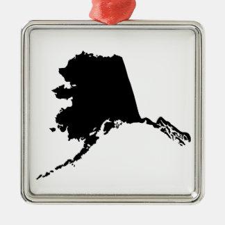 アメリカのアラスカ州 メタルオーナメント