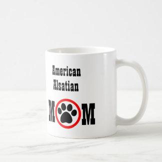 アメリカのアルザス犬の恋人 コーヒーマグカップ