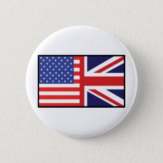 アメリカのイギリス 5.7CM 丸型バッジ