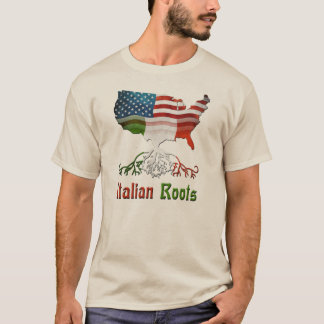 アメリカのイタリアンな家系の人のTシャツ Tシャツ
