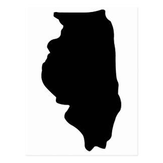 アメリカのイリノイ州 ポストカード