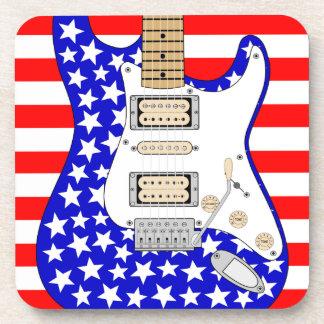 アメリカのエレキギター コースター