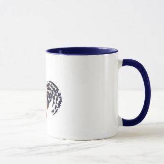 アメリカのオンドリのマグ マグカップ