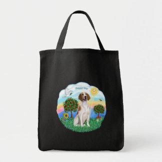アメリカのキツネの猟犬 トートバッグ