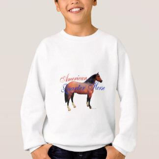 アメリカのクォーター馬 スウェットシャツ