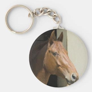 アメリカのクォーター馬Keychain キーホルダー
