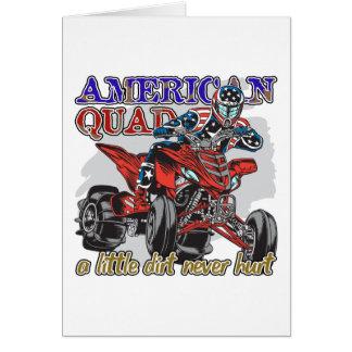 アメリカのクォード カード