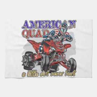 アメリカのクォード キッチンタオル