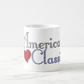 アメリカのクラシックなスタイル コーヒーマグカップ