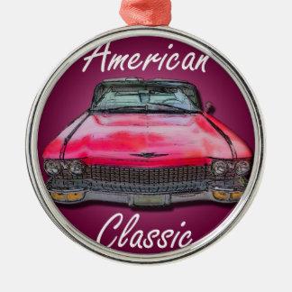 アメリカのクラシック1960年のキャデラック メタルオーナメント