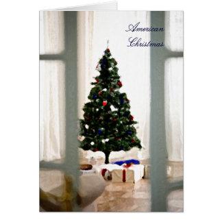 アメリカのクリスマスカード カード