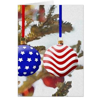 アメリカのクリスマス カード