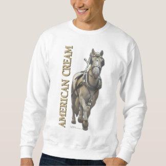 アメリカのクリーム スウェットシャツ