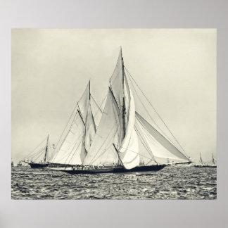 アメリカのコップ1892年 ポスター