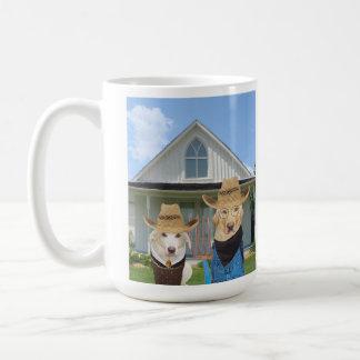 アメリカのゴシック様式実験室 コーヒーマグカップ
