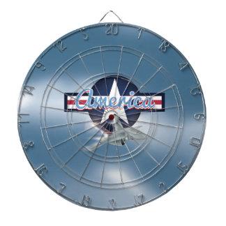 アメリカのジェット戦闘機の空軍 ダーツボード