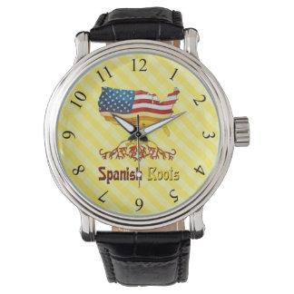 アメリカのスペインのな根の腕時計 腕時計
