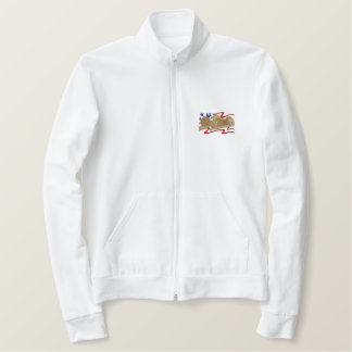 アメリカのスポーツ 刺繍入りジャケット