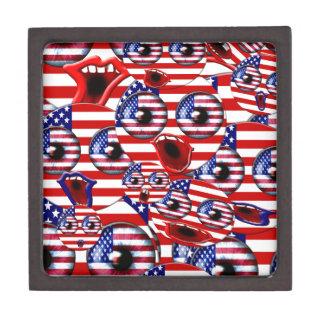 アメリカのスマイリー ギフトボックス