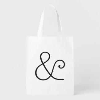 アメリカのタイプライターライト凸版印刷の黒 買い物袋