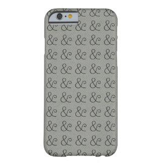 アメリカのタイプライターライト凸版印刷の黒 BARELY THERE iPhone 6 ケース