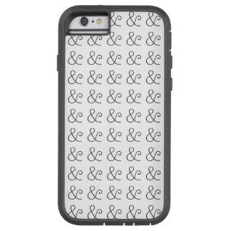 アメリカのタイプライターライト凸版印刷の黒 TOUGH XTREME iPhone 6 ケース