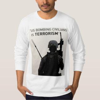 アメリカのテロリスト Tシャツ