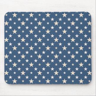 アメリカのテーマの星パターン マウスパッド