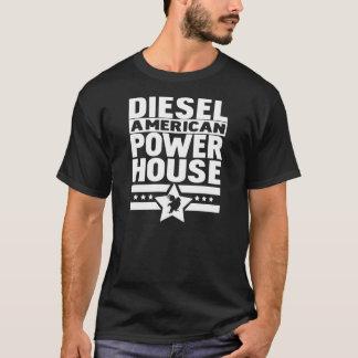 アメリカのディーゼル発電所 Tシャツ