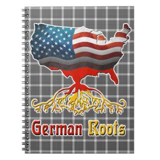 アメリカのドイツ語はメモ帳を定着させます ノートブック