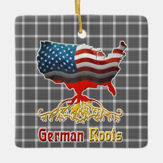 アメリカのドイツ語は装飾を定着させます セラミックオーナメント