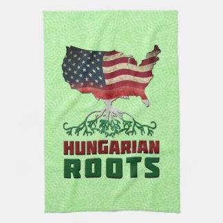 アメリカのハンガリー語はふきんを定着させます キッチンタオル