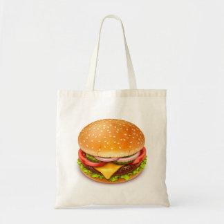 アメリカのハンバーガーの予算のトートバック トートバッグ