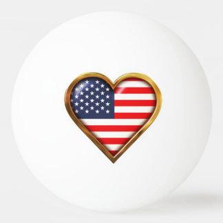 アメリカのハート 卓球ボール