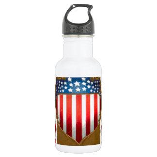 アメリカのバッジおよび白頭鷲 ウォーターボトル