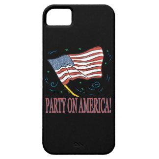アメリカのパーティー iPhone SE/5/5s ケース