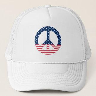 アメリカのピースサインの帽子 キャップ