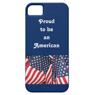 アメリカのプライドの愛国心が強い電話箱 iPhone SE/5/5s ケース