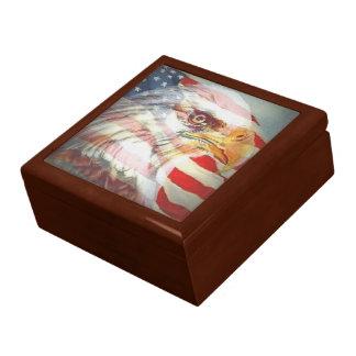アメリカのプライドの記念品箱 ギフトボックス