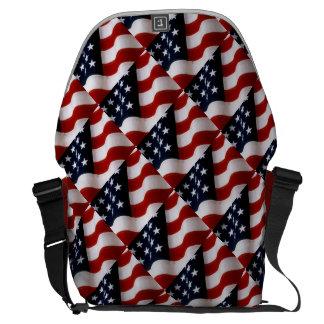 アメリカのプライド メッセンジャーバッグ