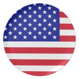 アメリカのプレート プレート