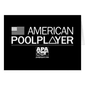 アメリカのプールプレーヤー カード