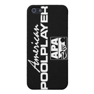 アメリカのプールプレーヤー-白 iPhone SE/5/5sケース